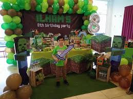 minecraft birthday party wondermama party kl wondermama candy buffet minecraft theme