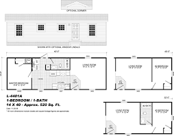 Single Wide Mobile Home Floor Plans One Bedroom Mobile Homes Floor Plans Desk In Small Bedroom