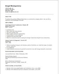 Sample Resume For Factory Worker by Electrician Resume Samples Journeyman Electrician Resume Samples