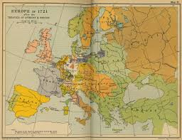 Europe 1815 Map by