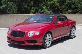 bentley coupe red 2014 bentley continental gtc v8 s stock 4nc096392 for sale near