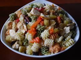 giardiniera chicken pasta salad chatty gourmet