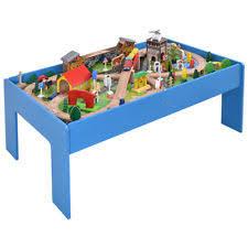 thomas train set wooden table thomas train table set ebay