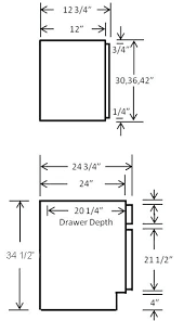 Kitchen Cabinet Door Dimensions Standard Dimensions Of Kitchen Cabinets Everdayentropy Com