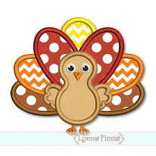 thanksgiving turkey applique 4x4 5x7 6x10 svg welcome to lynnie