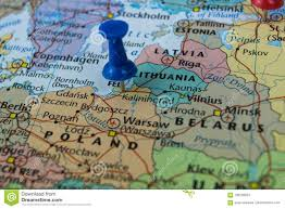 russia world cup cities map kaliningrad city pinned on a map of russia among other world cup