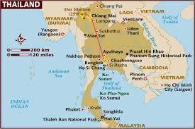 Phuket Thailand Map Thailand Map Pai