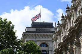 Flag Flying Rules London Attack Union Jack Flags Across Capital And World Lowered
