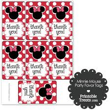 printable minnie mouse favor tags printabletreats