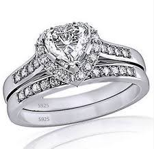 heart shaped wedding rings heart shaped wedding rings ebay