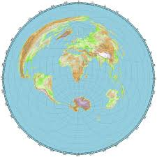 Circle Map The Flat Earth