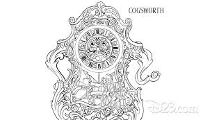 say u201cbonjour u201d to these beauty and the beast coloring pages d23