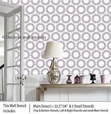 Floral Wall Stencils For Bedrooms 78 Best New Wall Stencils Images On Pinterest Wall Stenciling