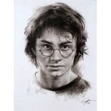 harry potter paintings daniel radcliffe harry potter drawings