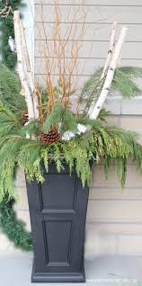 Fern Decor by Christmas Entryway Decor Ideas Setting For Four