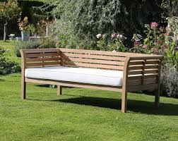 Wooden Outdoor Daybed Furniture - day bed 220cm with cushion u2013 garden furniture outdoor living