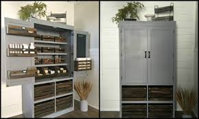 Furniture Kitchen Pantry Build A Freestanding Pantry Diy Projects For Everyone