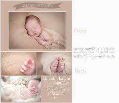 newborn announcement cards abigail joyce photography