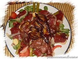 cuisine des terroirs recettes recette salade du terroir 750g