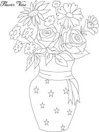 A Flower Vase Photos Flower Vase Sketch Easy Drawing Art Gallery