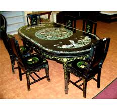 Asian Inspired Dining Room by Asian Furniture Set