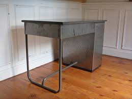 bureau m騁allique industriel bureau industriel en métal vintage steel desk style and steel jpg