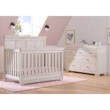 Simmons Convertible Crib by Simmons Kids Ashton 2 Piece Crib Set Antique White
