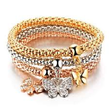 free set bracelet images Beautiful and bold 3 pcs set charm bracelets free 0 00 jpg