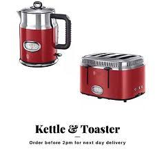 Russell Hobbs Kettle And Toaster Set Russell Hobbs Kettle Toaster Ebay