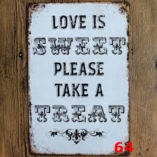 Home Decor Wall Signs by Home Wall Art Kitchen Rules Quote Metal Sign Wall Art Home Decor Tin