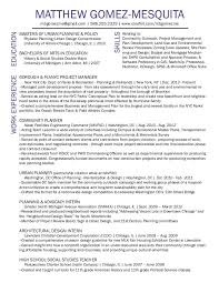 urban planner resume template urban planning cover letter