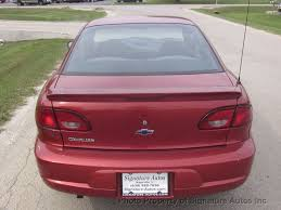 2001 used chevrolet cavalier 2dr coupe at signature autos inc