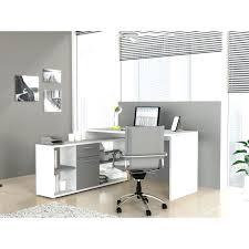bureau blanc et gris bureau d angle noir laque rangement de bureau design noir laquac 3