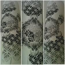 customised sacred geometry sleeve project
