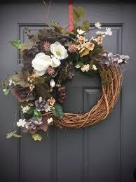 Grapevine Floral Design Home Decor The Magnolia Wreath Grape Wreath Year Round Wreaths All Season Door
