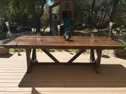 large outdoor dining table diy large outdoor dining table pinspired to new 15 decorating
