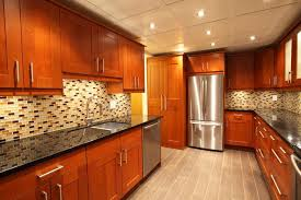 Modern Luxury Kitchen With Granite Countertop Ceramic Tile Vs Granite Hunker