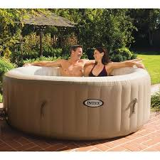 Whirlpool For Bathtub Portable Intex Purespa Portable Bubble Massage Spa Set With 120 High