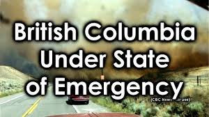 Bc Wildfire Highway Closures by State Of Emergency Declared In British Columbia Canada Youtube