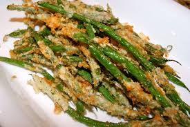cuisine haricot vert tempura fried haricot verts with aioli a touch of lemon and parm