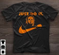 Halloween Michael Myers T Shirts by Just Do It