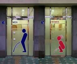 bathroom men men vs women bathroom signs giantgag