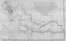 Map Of The North America by File Map Of Western British North America David Thompson 1813