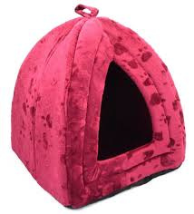 Igloo Dog House Parts Pet House Igloo Very Warm Insulated Padded Cosy Cave Bed House Dog