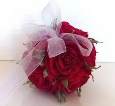 flower girl christmas ornament royal cherry wedding hanging crepe paper flower balls paper