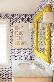 home interior bathroom 285 best wallpapered bathroom images on pinterest bathroom ideas