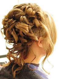 Pinterest Formal Hairstyles by Curly Prom Hairstyles 1000 Images About Hair On Pinterest