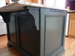 Corbels For Kitchen Island Kitchen Island Granite Overhang