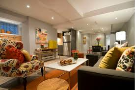bright and modern basement apartment renovation ideas impressive