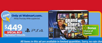sony ps4 grand theft auto v bundle 2 is walmart black